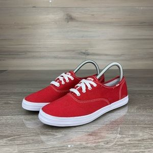 Red Keds Canvas champion sneakers shoes